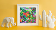 Barbados Art Print - Impressionist Art Wall Decor Collection-Di Lewis