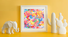 Imagination Art Print - Abstract Art Wall Decor Collection