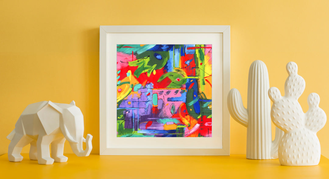 Musee Art Print - Abstract Art Wall Decor Collection