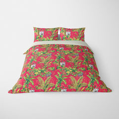 DECORATIVE DUVET COVERS & BEDDING SETS ZAMBIA TROPIC - ANIMAL DESIGN - HYPOALLERGENIC