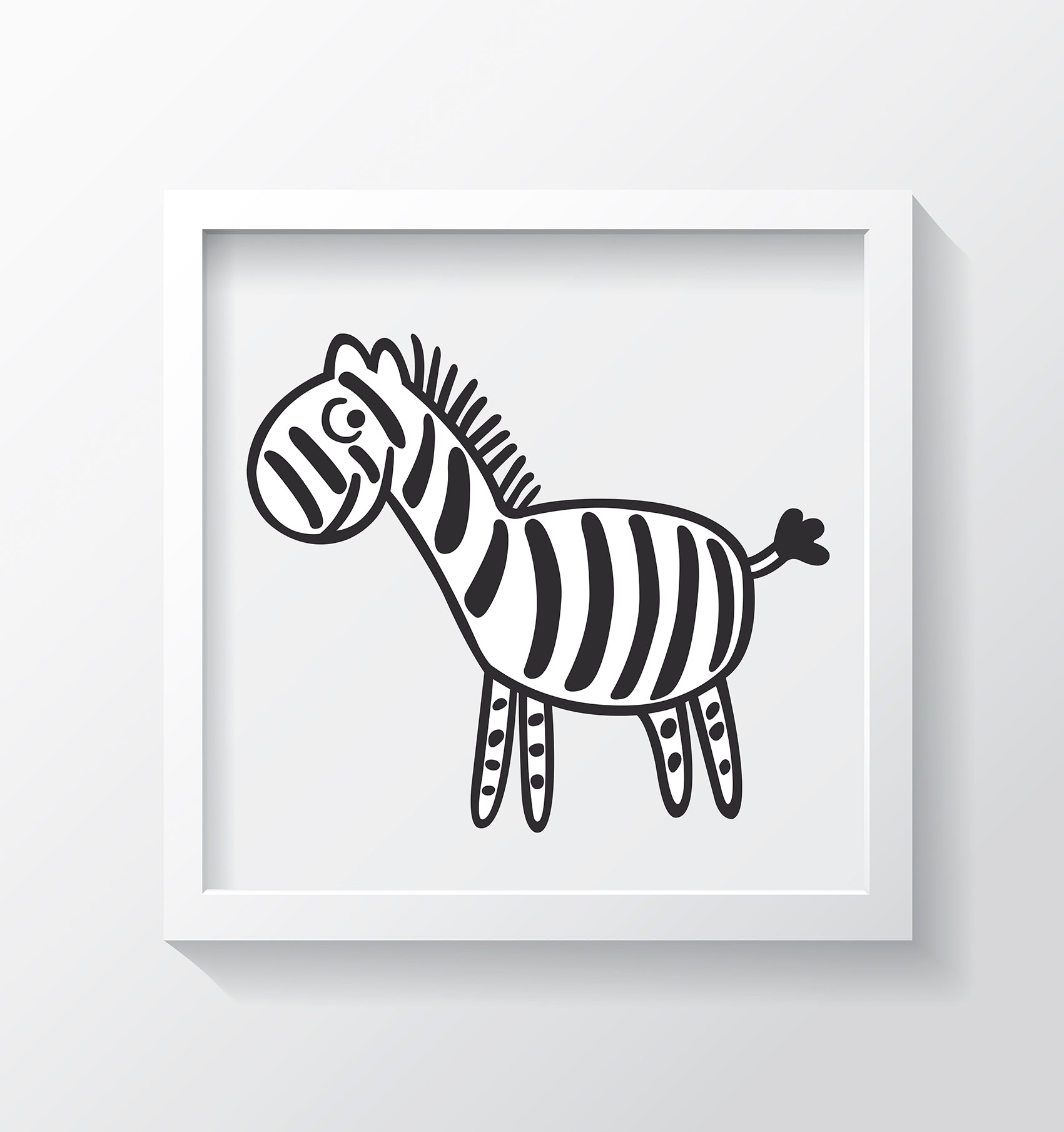 Zebra Kids Wall Decor Di Lewis Kids Bedroom Decor