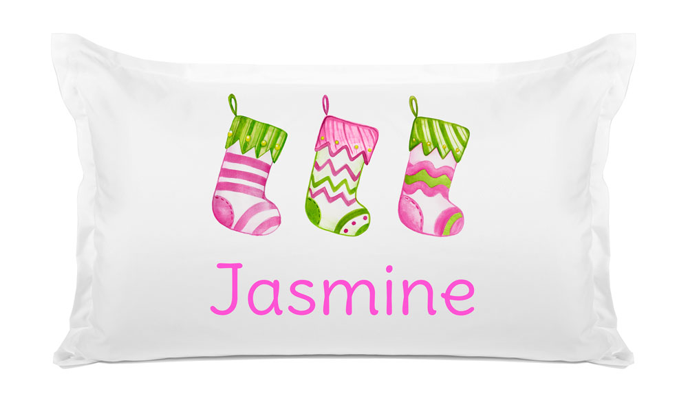 Christmas Stocking - Kids Personalized Pillowcase Collection