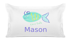 Cool Fish - Personalized Kids Pillowcase Collection
