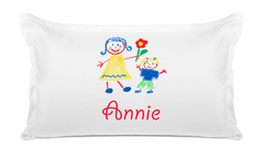 Girls Playing - Personalized Kids Pillowcase Collection