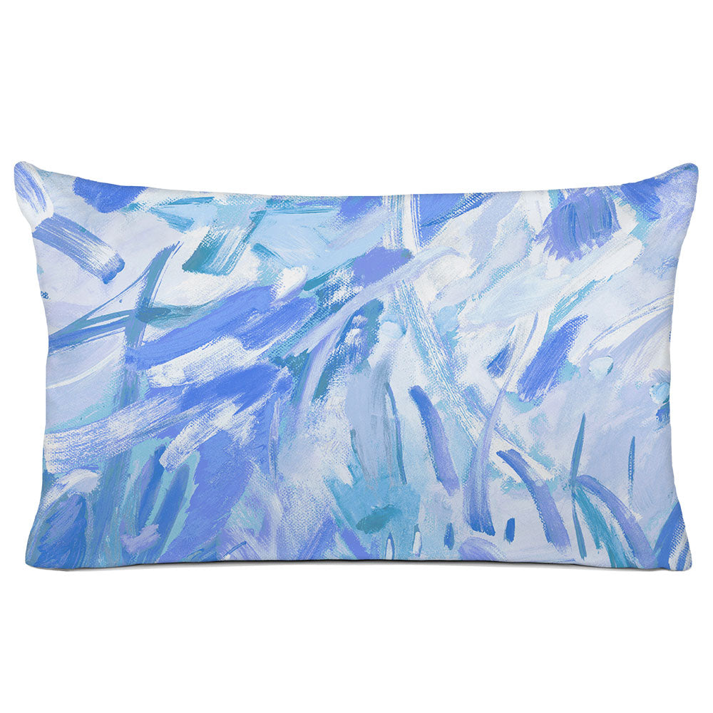 ABSTRACT PILLOW SHAM - BEDDING - CARNIVALE MARINE - GEOMETRIC DESIGN