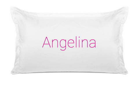 Personalized Name Pillowcase Di Lewis