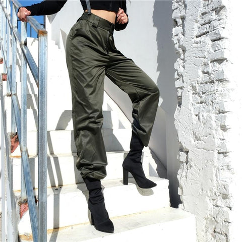 Bella High Waist Pants-August Bee