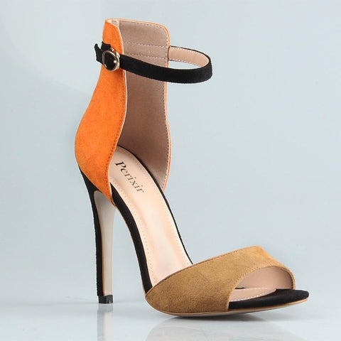 Fall Fabulous peep toe Heels-August Bee