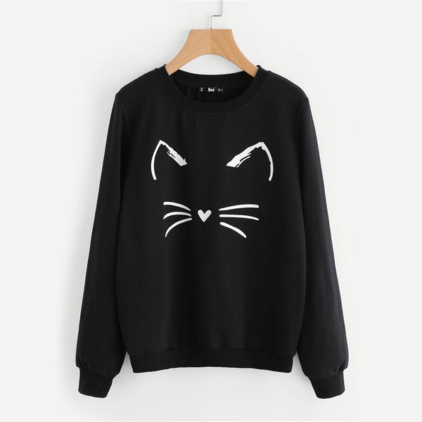 Kitty Cutie Sweatshirt-August Bee