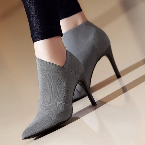 Marina Ankle Boots-August Bee