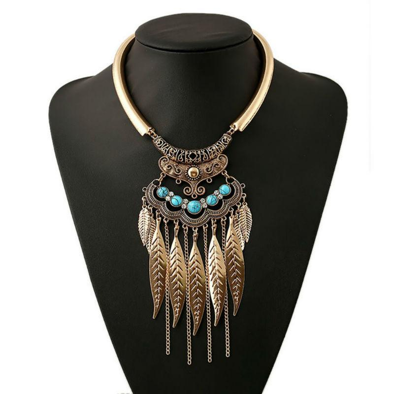 Maxi Collar Vintage Necklace-August Bee