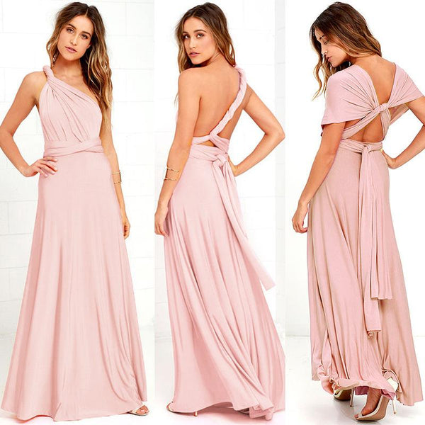Penelope Maxi Long Dress-August Bee