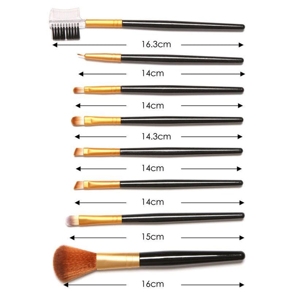 Professional Makeup Brushes-August Bee