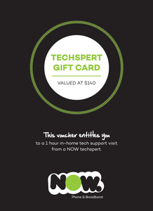 Techspert Gift Card - 1 Hour Visit