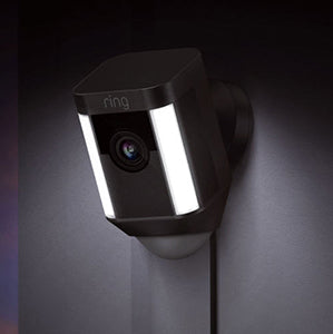 Ring Spotlight Cam - Black