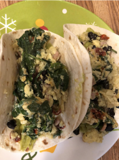 The Lazy Athlete/Chef's Breakfast Tacos