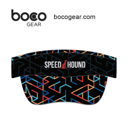 Speed Hound Performance Running Visor by Boco Gear