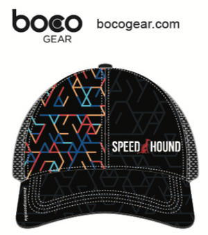 Speed Hound Technical Trucker Hat by Boco Gear