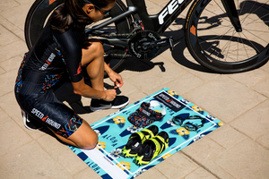 New style for 2018!  Speed Hound Transition Mat and Quick Dry Towel (Aloha Surfing)