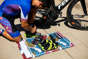Speed Hound Transition Mat and Quick Dry Towel (Wave Rider)