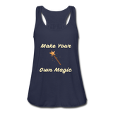Make Your Own Magic tank top - navy