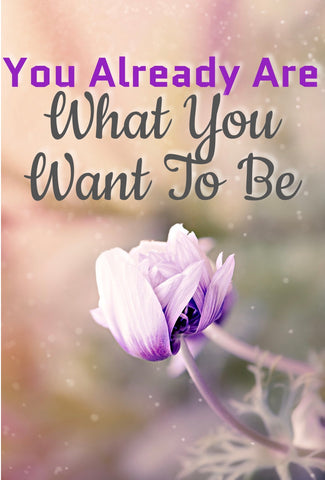 You Already Are What You Want To Be