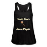 Make Your Own Magic tank top - black