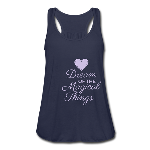 Dream Of The Magical Things tank top - navy