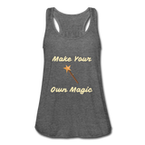 Make Your Own Magic tank top - deep heather