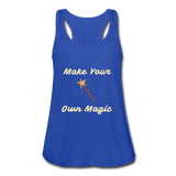 Make Your Own Magic tank top - royal blue
