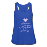 Dream Of The Magical Things tank top - royal blue