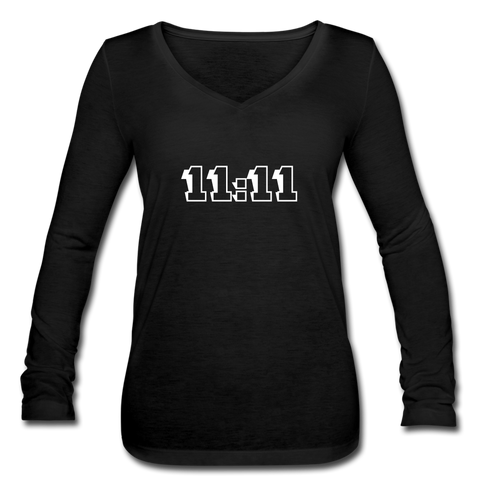 11:11 Long Sleeve - black
