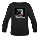 Manifest It Women's Crewneck Sweatshirt - black