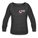 Manifest It Women's Crewneck Sweatshirt - heather black