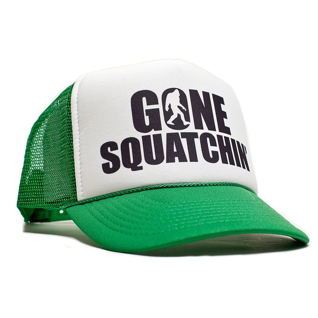 Gone Squatchin' Trucker Hat