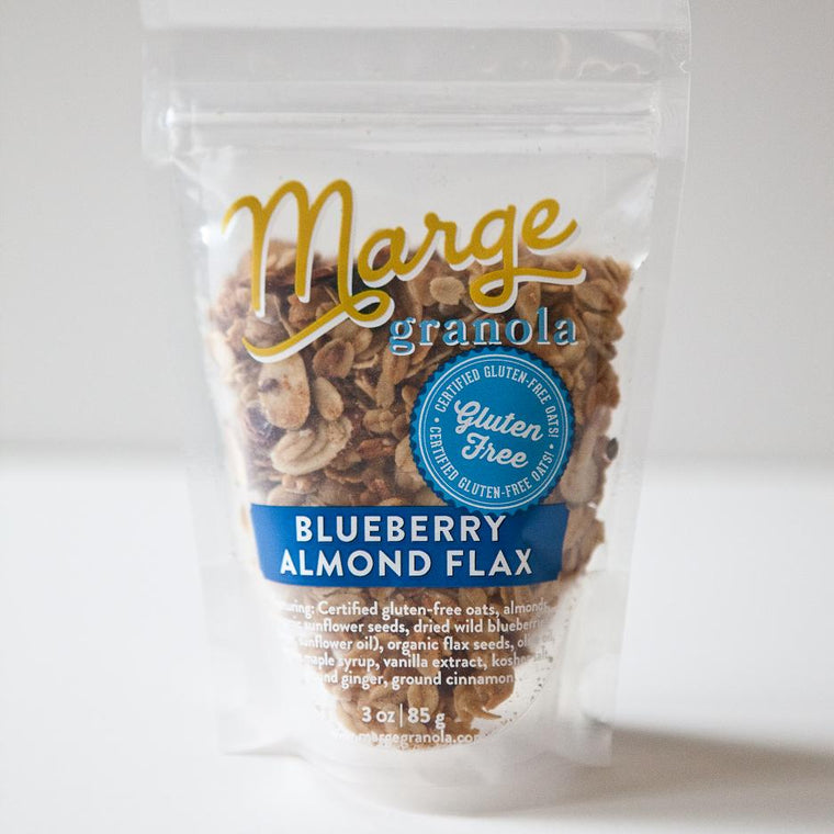 Marge Blueberry Almond Flax Granola - Washington in a Box