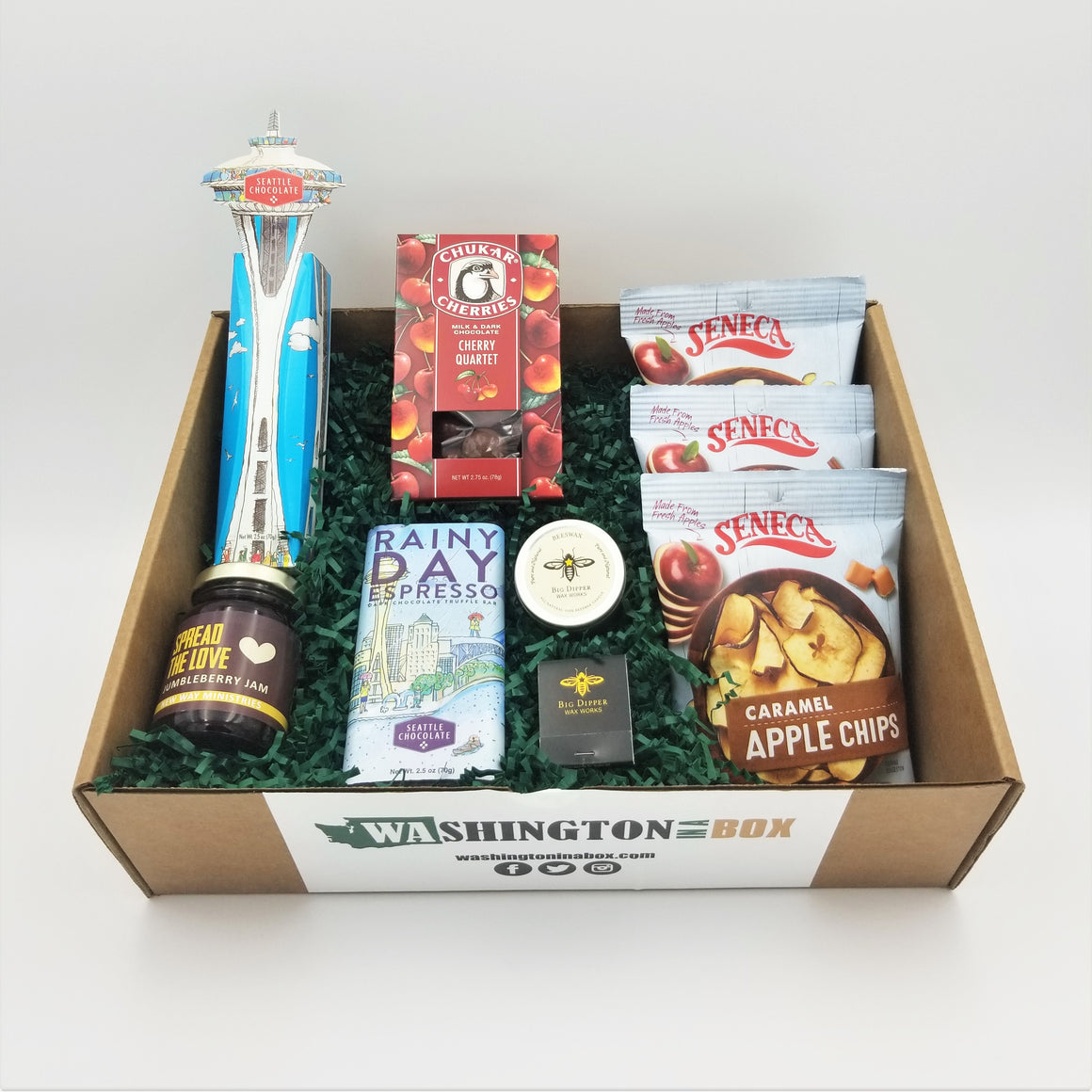 Washington Gift Box Gift Basket Made in Washington Gifts Mothers Day Gift