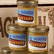 Dan the Sausageman Sweet N Hot Mustard