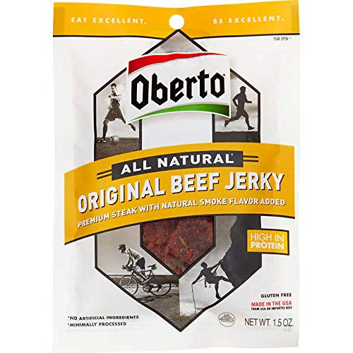 Oberto Original Beef Jerky Washington Gift Box Gift Basket Made in Washington Gifts