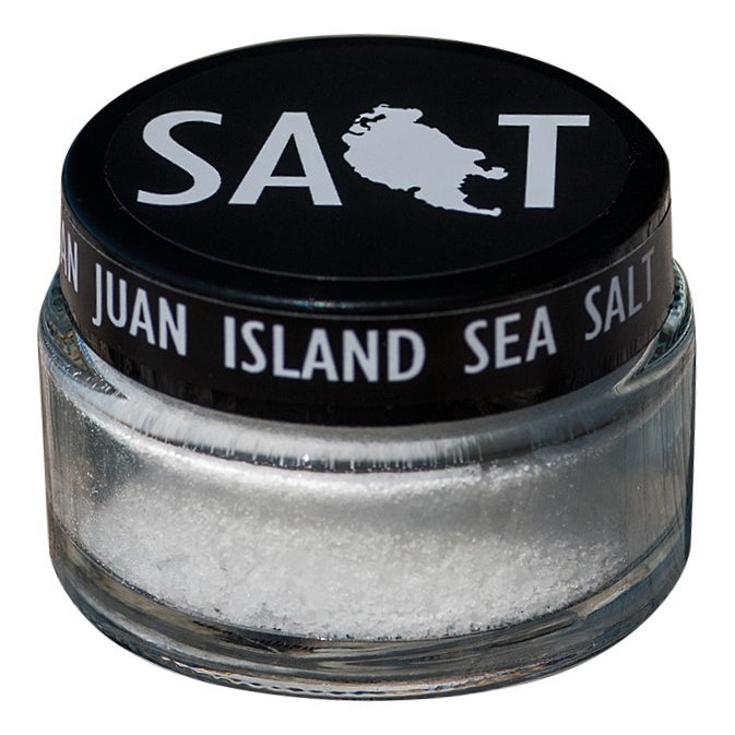 San Juan Natural Sea Salt Washington Gift Box Gift Basket Made in Washington Gifts