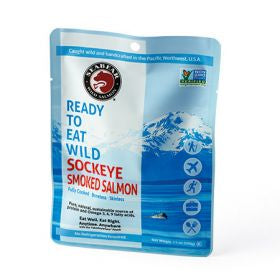 Seabear Wild Sockeye Smoked Salmon Pouch Washington Gift Box Gift Basket Made in Washington Gifts