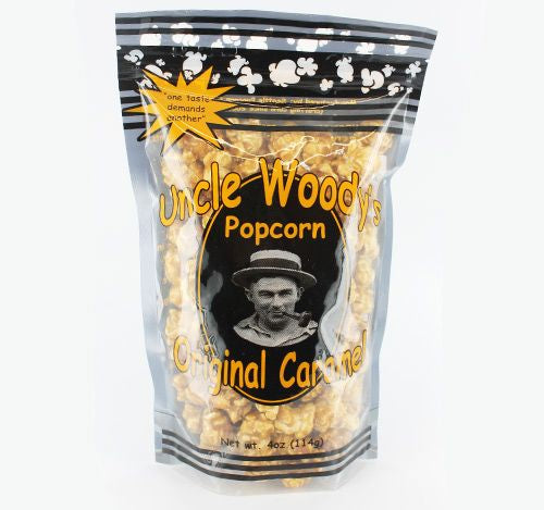 Uncle Woody's Caramel Popcorn Washington Gift Box Gift Basket Made in Washington Gifts