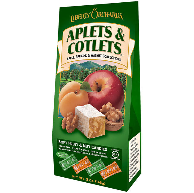 Liberty Orchards Aplets & Cotlets Washington Gift Box Gift Basket Made in Washington Gifts
