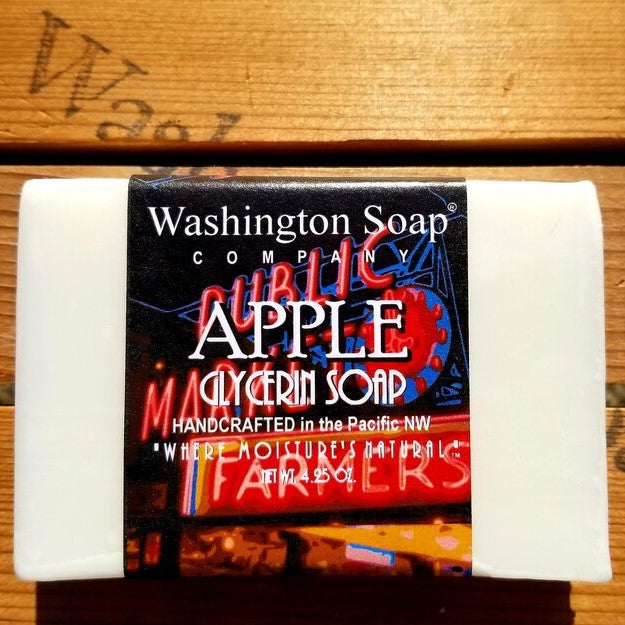Washington Soap Co. Apple Soap