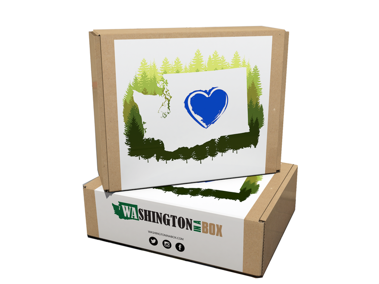"Valentine's Day Washington Box ""for Him"" - Washington in a Box"