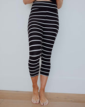 Striped Capri Leggings