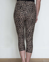 Capri Leggings- Tan Leopard