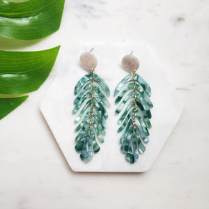 Miami Palm Earrings