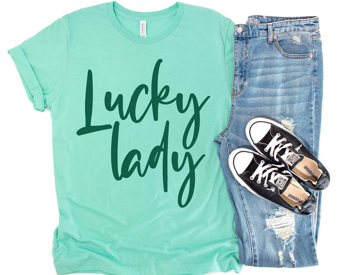 Lucky Lady Graphic Tee