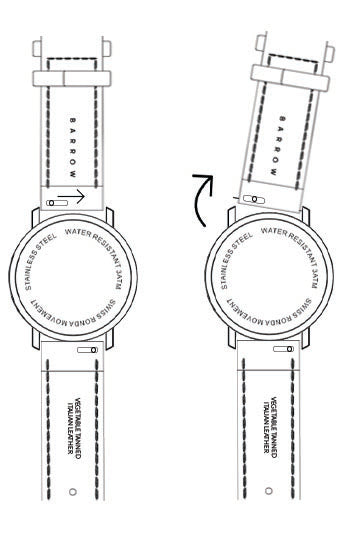 Change barrow watch strap